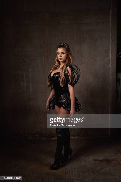 Demi Rose Mawby attends the KISS Haunted House Party 2018 at The SSE Arena Wembley on October 26 2018 in London England