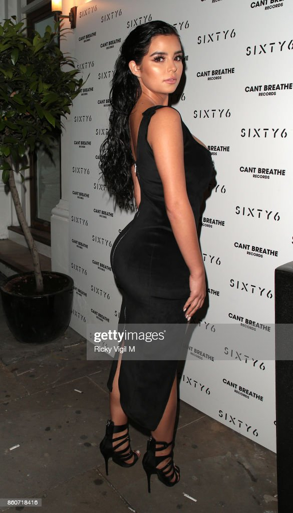 Demi Rose seen attending Sixty6 Magazine - issue four launch party at Sanctum Soho Hotel on October 12, 2017 in London, England.