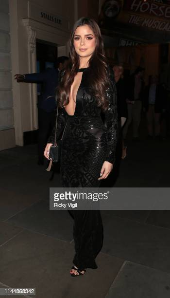 Demi Rose seen seen attending 'For The Chosen Few' event at Farzi Cafe on April 24 2019 in London England