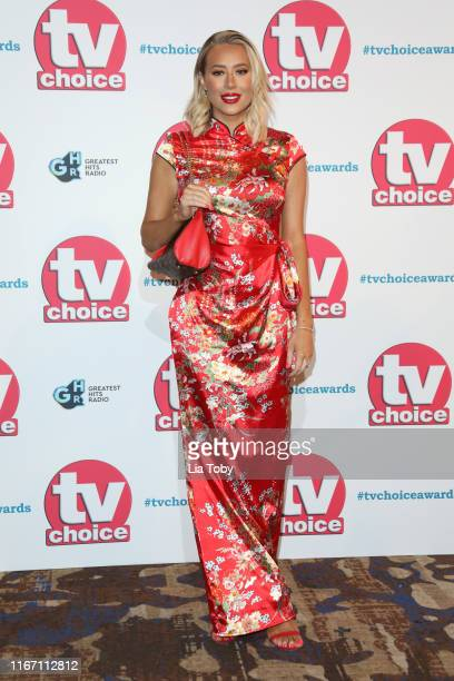 Demi Sims attends The TV Choice Awards 2019 at Hilton Park Lane on September 9 2019 in London England