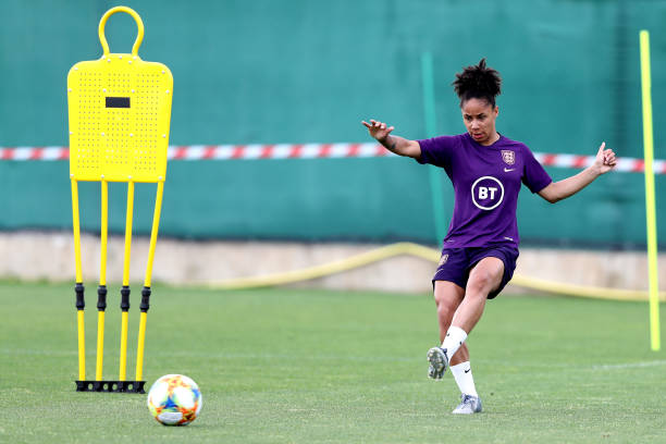 FRA: England Training Session - FIFA Women's World Cup