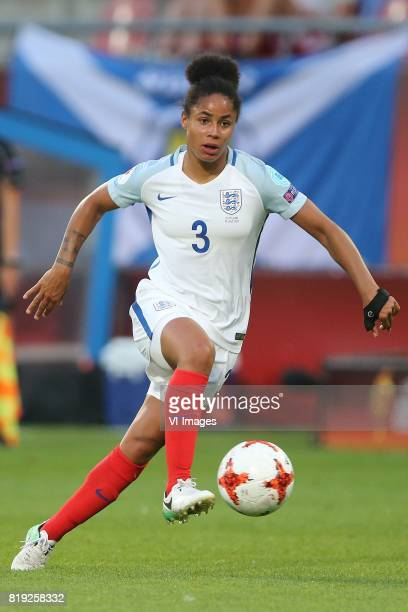 Demi Stokes of England women during the UEFA WEURO 2017 Group D group stage match between England and Scotland at the Galgenwaard Stadium on July 19...