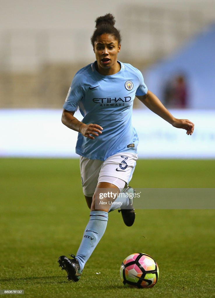 Manchester City Ladies v St. Polten Ladies: UEFA Women's Champions League : Fotografía de noticias