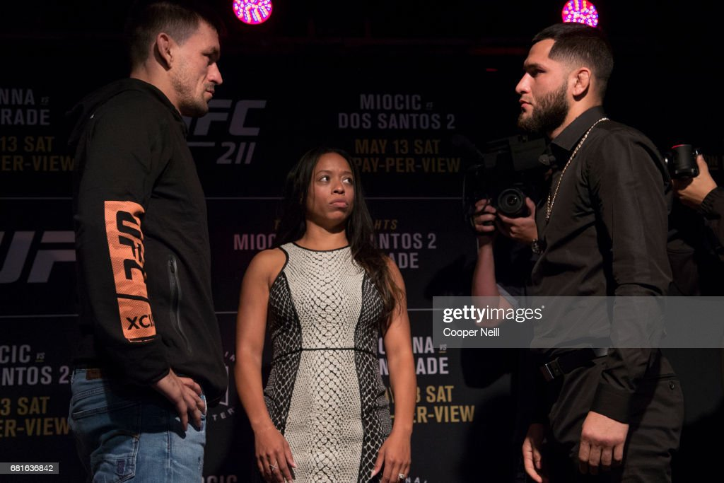 UFC 211: Ultimate Media Day : News Photo