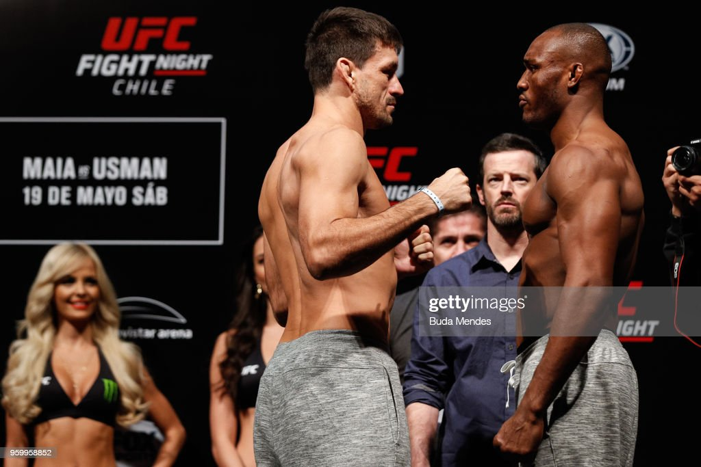 UFC Fight Night Maia vs Usman: Weigh-Ins