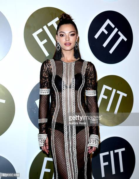 DemiLeigh NelPeters attends FIT's 2018 Annual Awards Gala at Cipriani 42nd Street on June 14 2018 in New York City