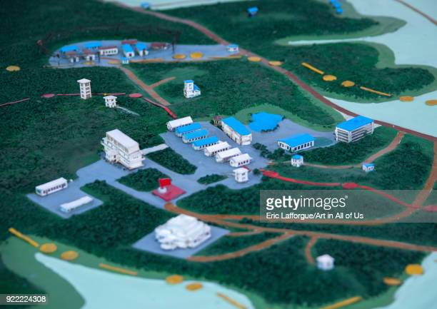 Demilitarized Zone mock-up model, North Hwanghae Province, Panmunjom, North Korea on May 19, 2009 in Panmunjom, North Korea.