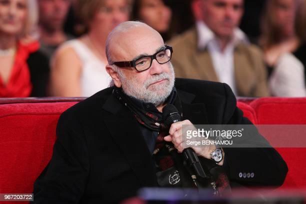 Demis Roussos attends Vivement Dimanche Tv show in Paris France on February 23 2011