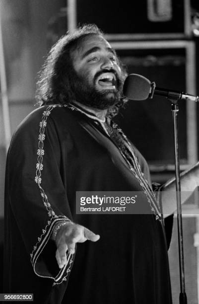 Demis Roussos en concert à Casablanca le 10 juillet 1978 Maroc