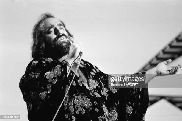 Demis Roussos en concert à Londres le 10 novembre 1978 RoyaumeUni