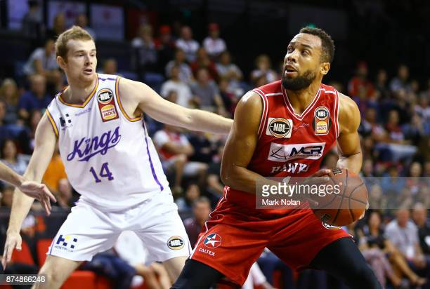 Demitrious Conger of the Hawks in action during the round seven NBL match between the Illawarra Hawks and the Sydney Kings at Wollongong...