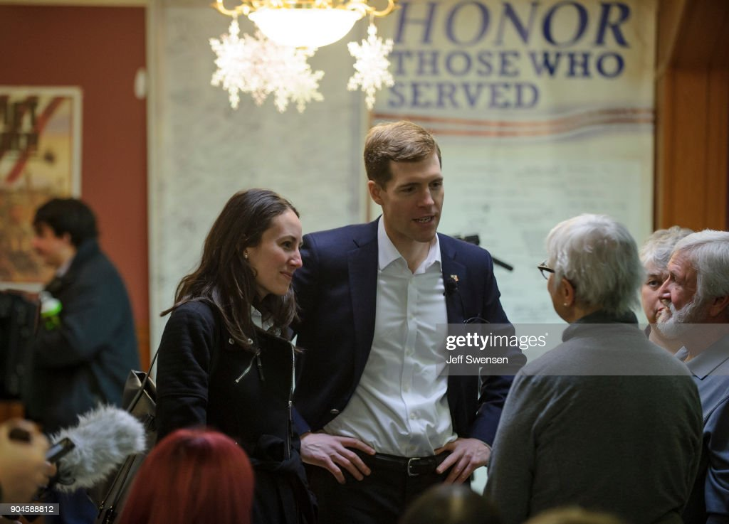 Democratic Congressional Candidate Conor Lamb Campaigns Before Special Election