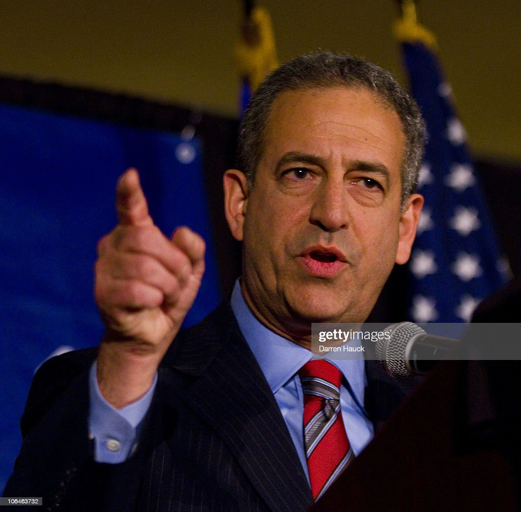 Senate Incumbent Russell Feingold Attends Election Night Event