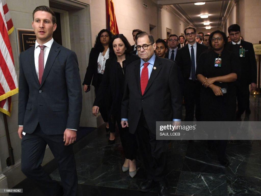 US-politics-impeachment : News Photo