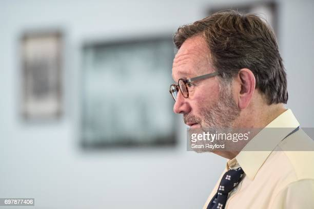 Democratic congressional candidate Archie Parnell meets with voters June 19 2017 in Bishopville South Carolina Voters will choose between Parnell and...