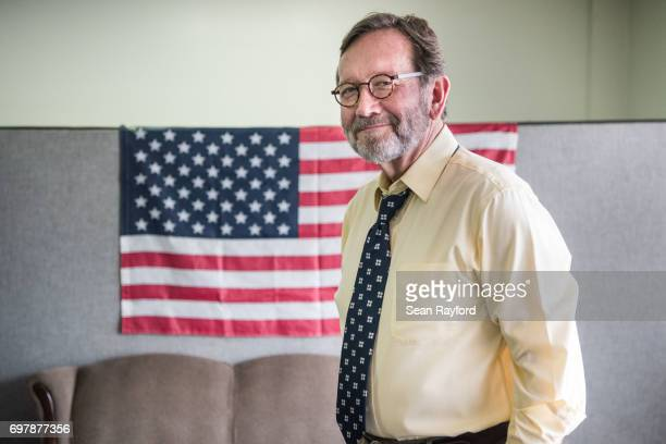 Democratic congressional candidate Archie Parnell stands in the Lee County Democratic campaign offices June 19 2017 in Bishopville South Carolina...