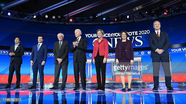 Democratic Debate - ABC News Chief Anchor George Stephanopoulos, World News Tonight Anchor and Managing Editor David Muir and ABC News Live Anchor...