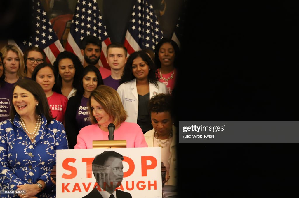 Pro-Choice Caucus Members Announce Opposition To President Trump's Supreme Court Nominee Brett Kavanaugh