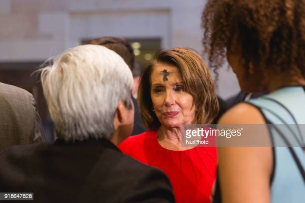 Democratic minority leader Nancy Pelosi was in attendance at the Commemoration of the Bicentennial of the Birth of Frederick Douglass in Emancipation...