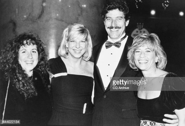 Democratic National Commission fundraiser dinner Rep Bob Carr DMich with Diane Blagman Josh Baggett and Ester Kurz on December 2 1989 'n