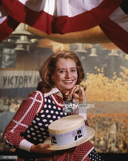 TODAY Democratic National Convention 1972 Pictured Today Show anchor Barbara Walters Photo by NBCU Photo Bank