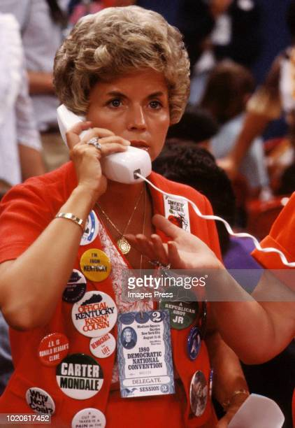 Democratic National Convention Delegate circa 1980 in New York