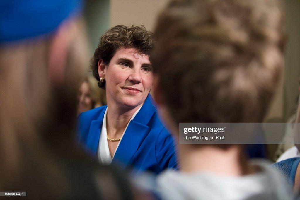 Amy McGrath Election Night Coverage : News Photo