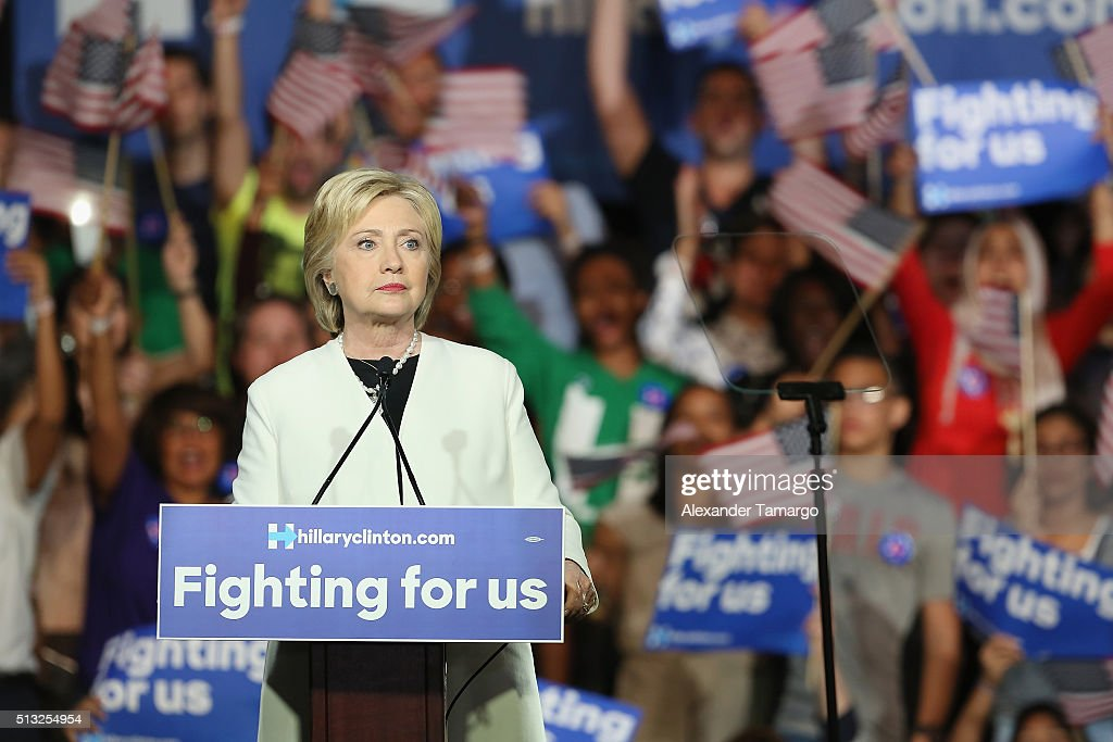 Hillary for America Super Tuesday Event : News Photo