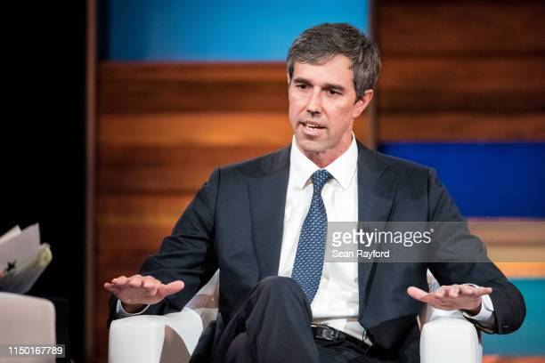 Democratic presidential candidate and former U.S. Rep. Beto O'Rourke participates in the Black Economic Alliance Forum at the Charleston Music Hall...