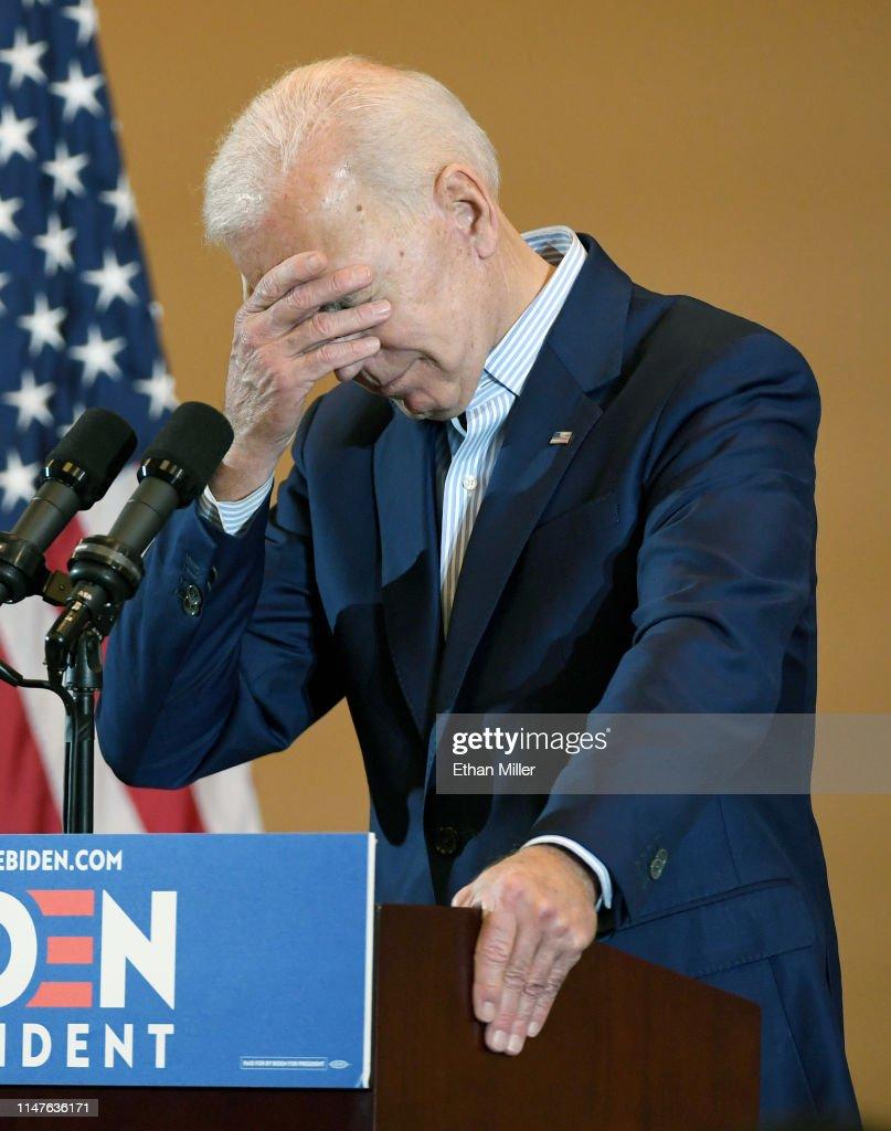 Joe Biden Takes His Presidential Campaign To Nevada : News Photo
