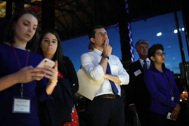 VA: Democratic Presidential Candidates Pete Buttigieg And Amy Klobuchar Speak At Blue Commonwealth Gala In Richmond, Virginia