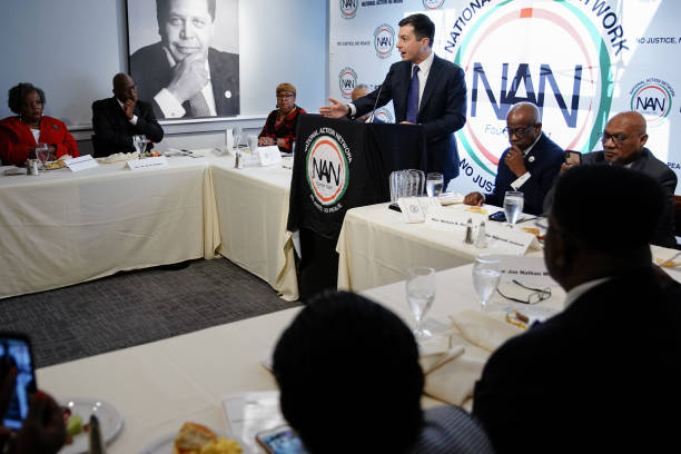 GA: Democratic Presidential Candidates Attend National Action Network Conference