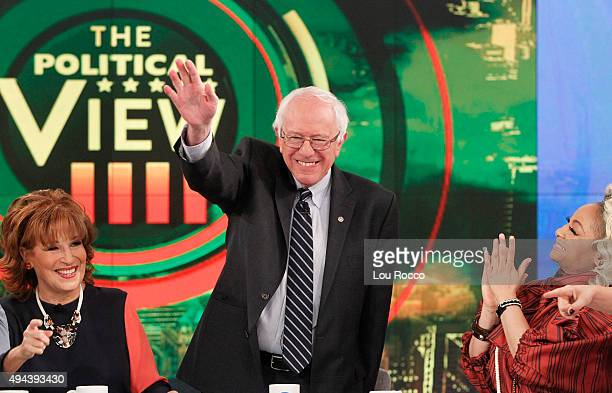 THE VIEW Democratic presidential candidate and Vermont Senator Bernie Sanders is the guest today Monday October 26 2015 on Walt Disney Television via...