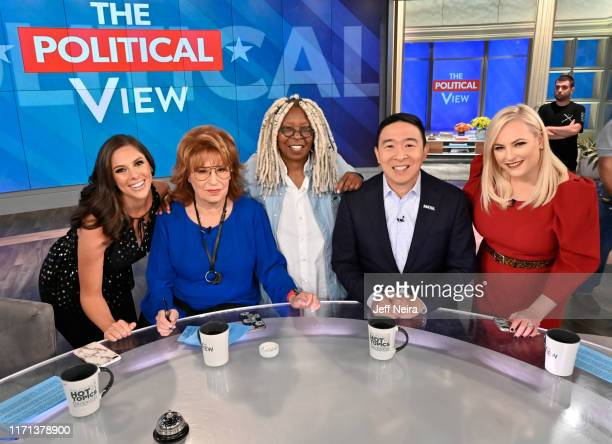 """Democratic presidential candidate Andrew Yang is a guest today on ABC """"The View."""" """"The View"""" airs Monday-Friday 11am-12 noon, ET on ABC. VW19 ABBY..."""
