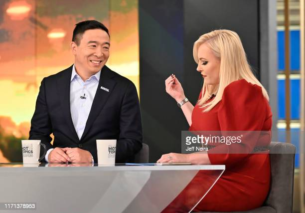"""Democratic presidential candidate Andrew Yang is a guest today on ABC """"The View."""" """"The View"""" airs Monday-Friday 11am-12 noon, ET on ABC. VW19 ANDREW..."""