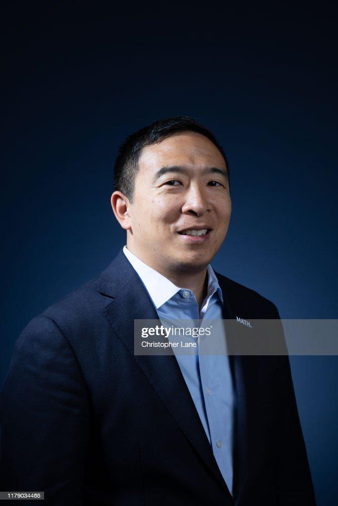Andrew Yang, Newsweek, October 17, 2019 : News Photo