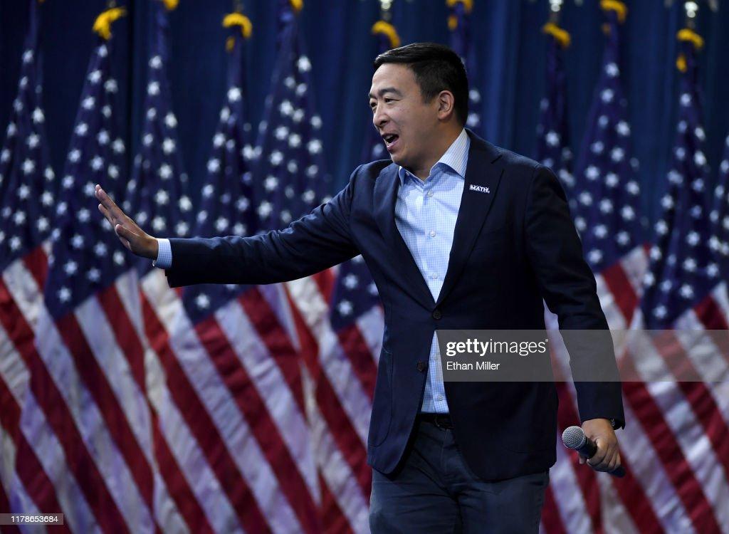 Democratic Presidential Candidates Attend Gun Violence Forum  In Las Vegas : News Photo