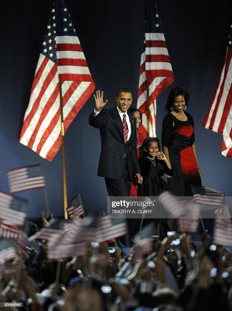 Democratic presidential candidate Barack : News Photo