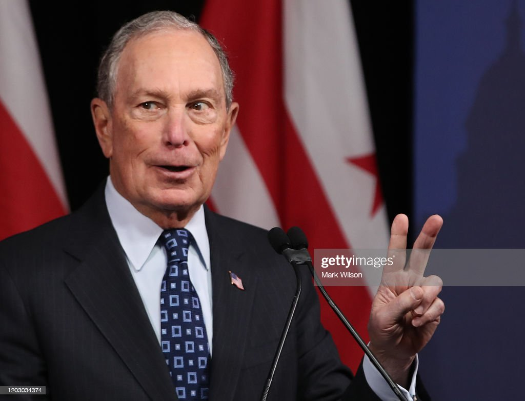 Mike Bloomberg Makes Speech On Affordable Housing and Homelessness : News Photo
