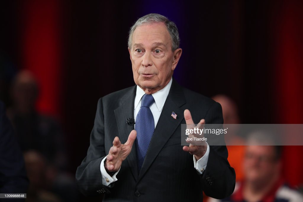 Democratic Presidential Candidate Mike Bloomberg Campaigns Ahead Of Super Tuesday : News Photo