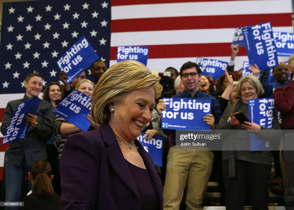 Hillary Clinton Begins Final Campaign Push In New Hampshire