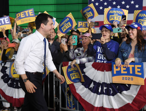 NV: Presidential Candidate Pete Buttigieg Holds Campaign Rally In Las Vegas