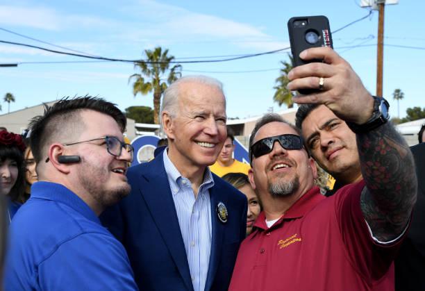 NV: Joe Biden Campaigns In Las Vegas One Day Before Nevada Caucuses