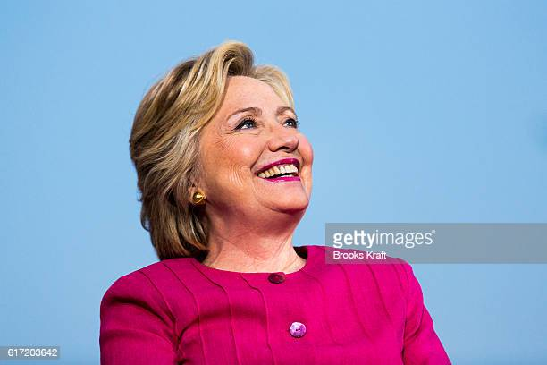 Democratic Presidential candidate Hillary Clinton at a campaign event July 29 2016 in Harrisburg PA
