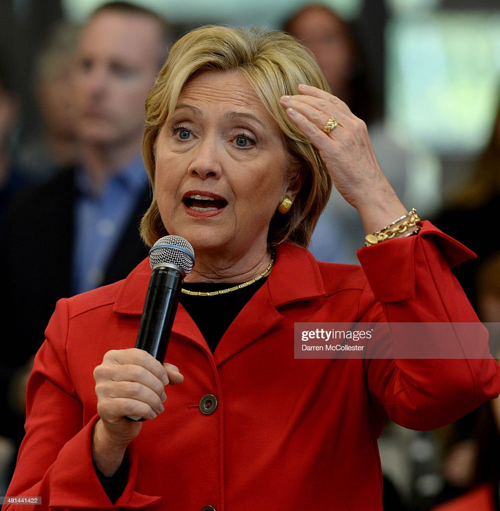 Hillary Clinton Latest News: Democratic Presidential Candidate Hillary Clinton Speaks