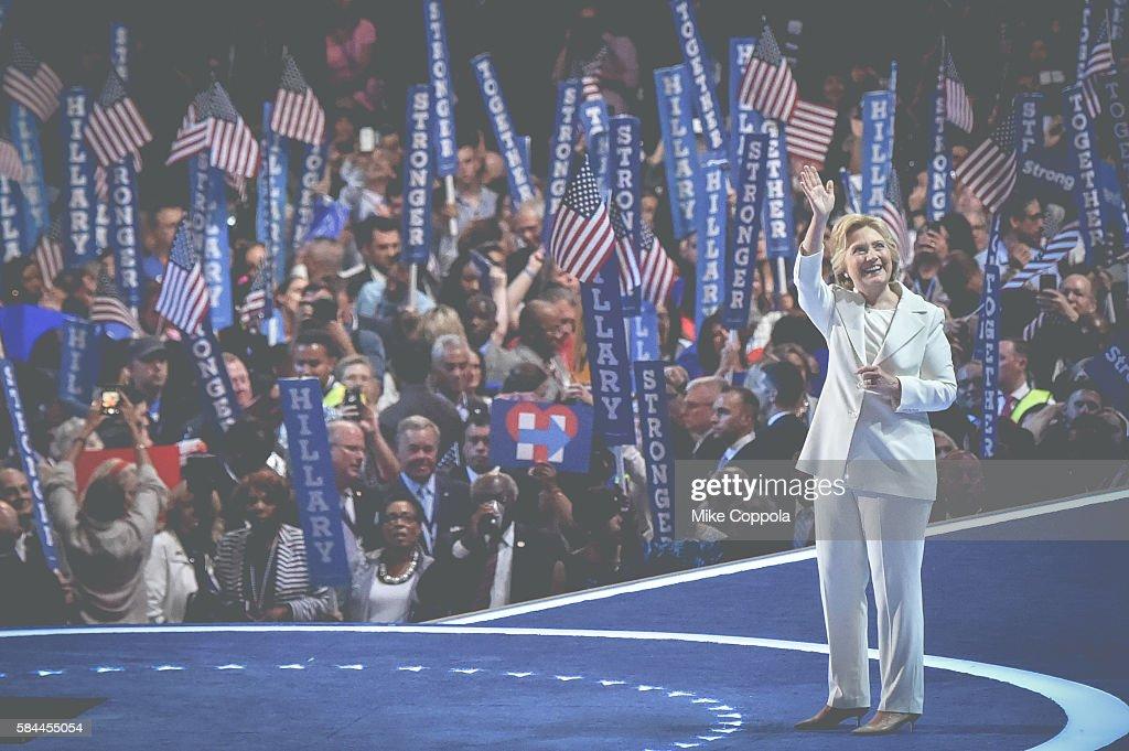 2016 Democratic National Convention - Alternative Views : News Photo