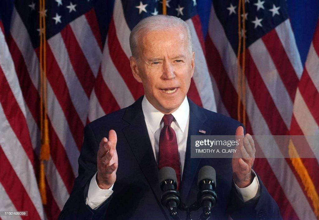US-vote-election-diplomacy-BIDEN : News Photo