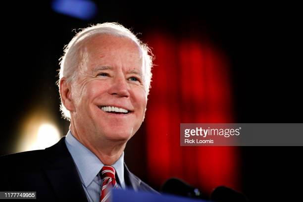 Democratic Presidential candidate Joe Biden lays out his economic policy plan to help rebuild the middle class during a campaign stop at the Scranton...
