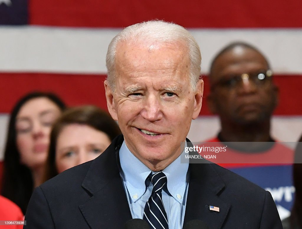 US-POLITICS-VOTE-BIDEN : News Photo