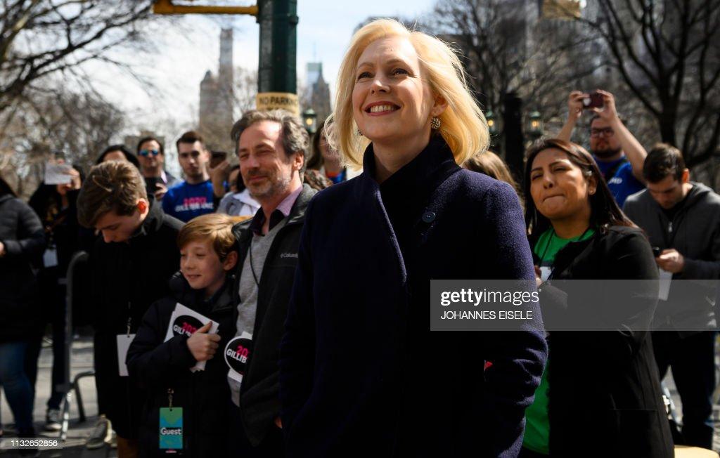 US-POLITICS-GILLIBRAND-election : News Photo